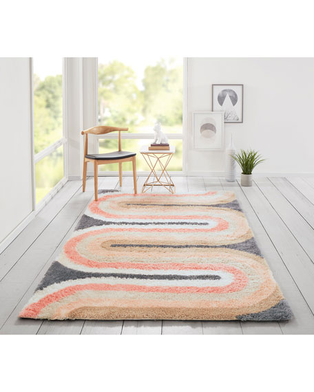 Sequoia Hand-Tufted Rug, 5' x 8'