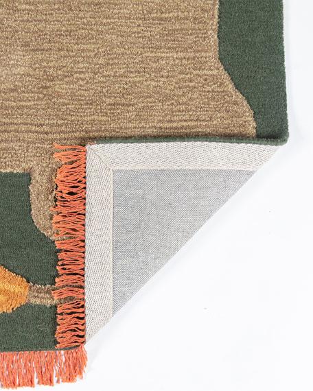 Jefereson Hand-Tufted Rug, 4' x 6'