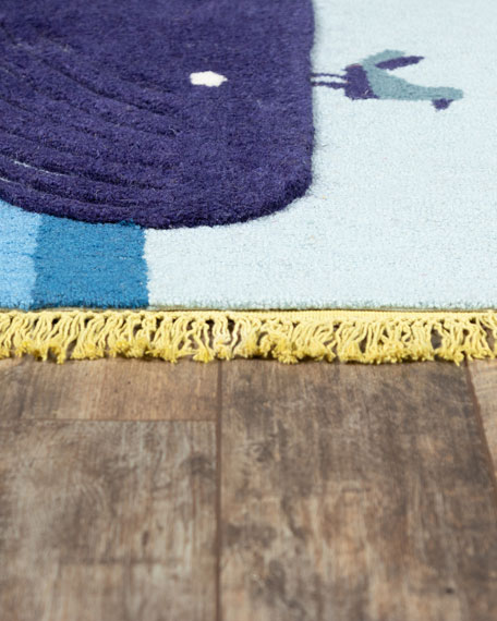 Ciao Hand-Tufted Rug, 4' x 6'