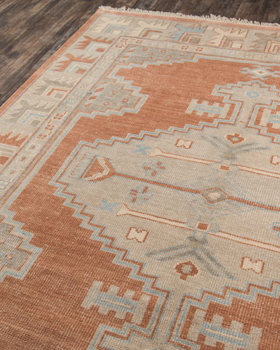 Othello Hand-Knotted Runner  2' x 8'