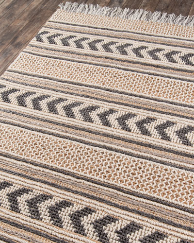 Vincent Hand-Woven Rug  4' x 6'