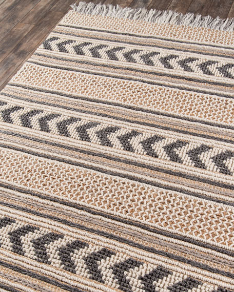 Vincent Hand-Woven Rug, 6' x 9'