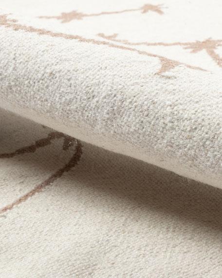 Jolie Hand-Woven Rug, 5' x 8'