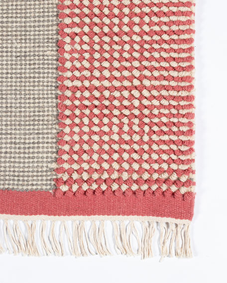 Rockford Hand-Woven Rug, 9' x 12'