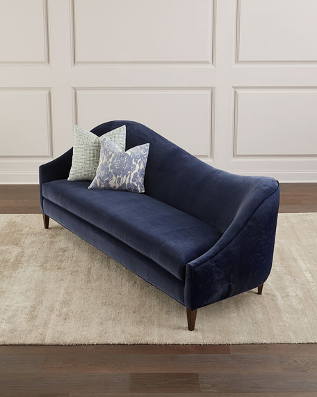 """Ava Left Arm Sofa with Hide Back, 92"""""""