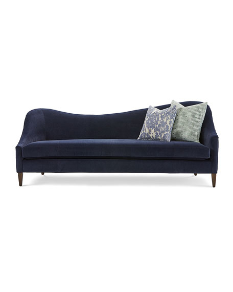 Ava Right Arm Sofa with Hide Back, 92""