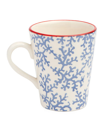 Sienna Coral Mugs  Set of 4