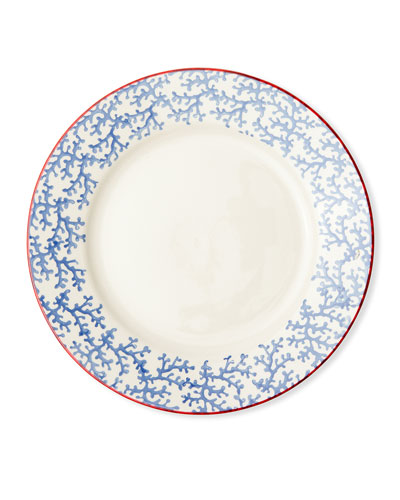 Sienna Coral Dinner Plates  Set of 4