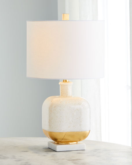 Gold Fleck Table Lamp