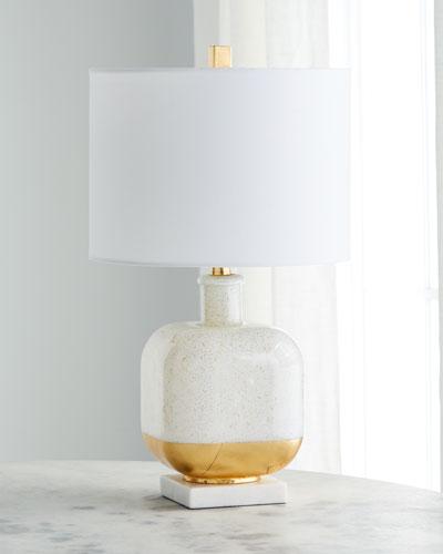Gold Fleck Table Lamp