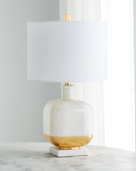 Jamie Young Gold Fleck Table Lamp