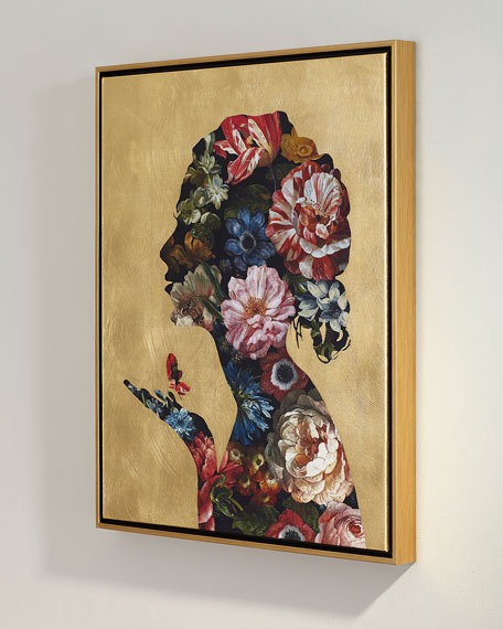 """""""Floral Reflection II"""" Giclee Wall Art"""