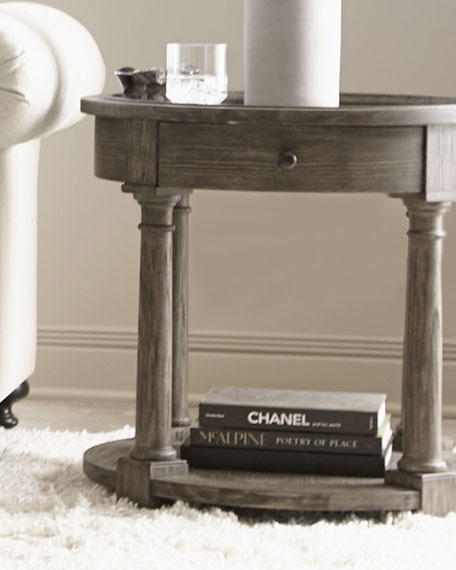 "Canyon Ridge Round Side Table - 25""T"