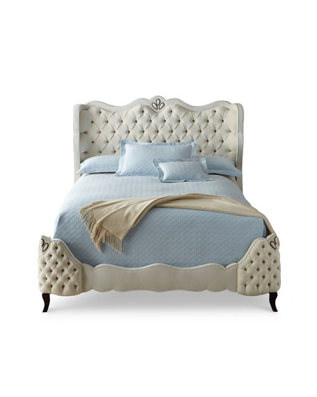 Angelica Tufted King Bed