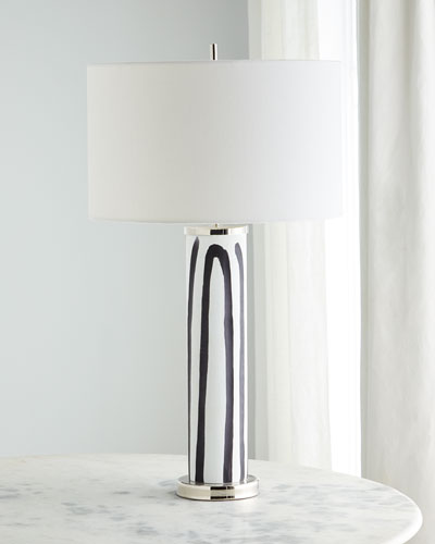 Yin Yang Glass Table Lamp