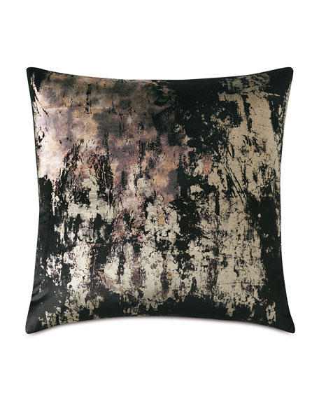 Pyrite Black Decorative Pillow
