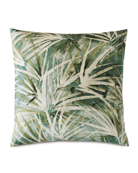 Palawan Emerald Decorative Pillow