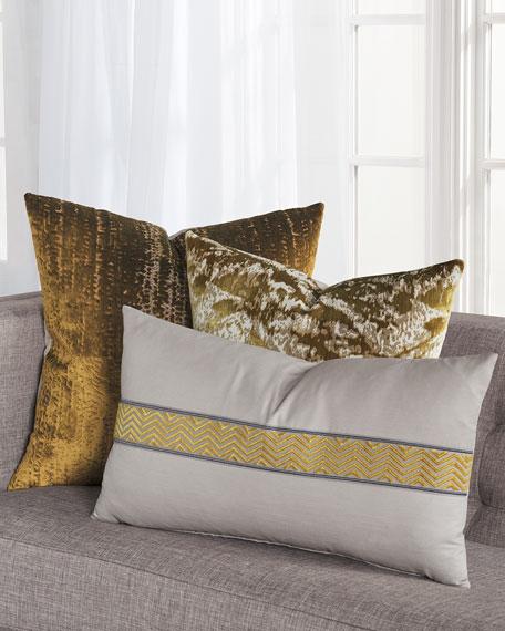 Brioche Mustard Decorative Pillow