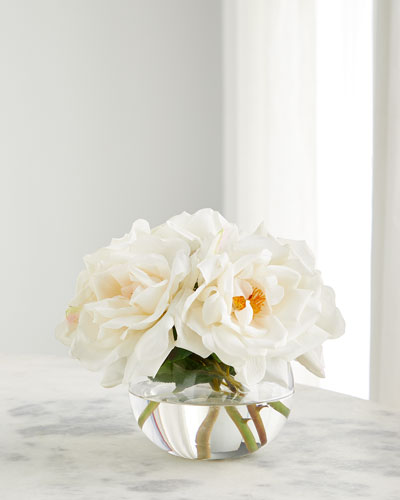 Peaches & Cream Floral Arrangement