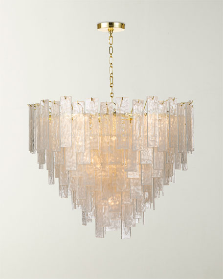 Large Glacier Chandelier