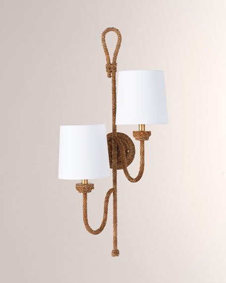 Bimini Double Sconce