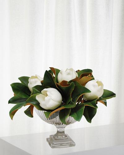 Magnolia in Stripe Cut Bowl