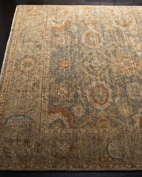 Monserrate Hand-Knotted Rug, 8' x 10'