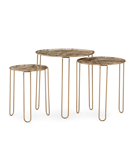 Trio Of Cosette Nesting Tables