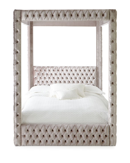 Astrid Queen Canopy Bed