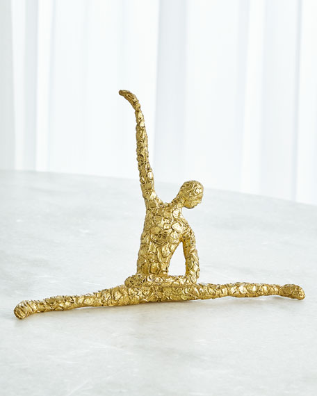 Figural Male Dancer Splits
