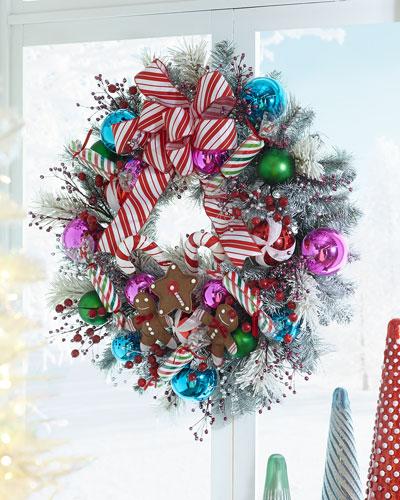 Sweet Holiday Wreath