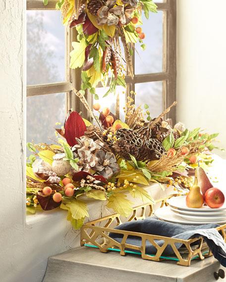 Exclusive Autumn Harvest Mantelpiece