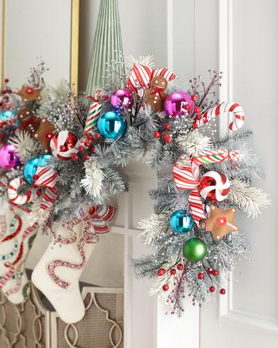 Sweet Holiday 6' Prelit Garland