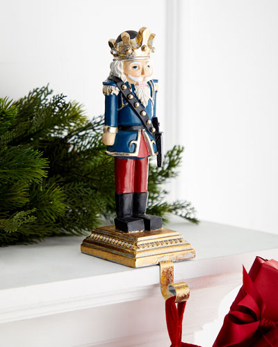 King Nutcracker Stocking Holder