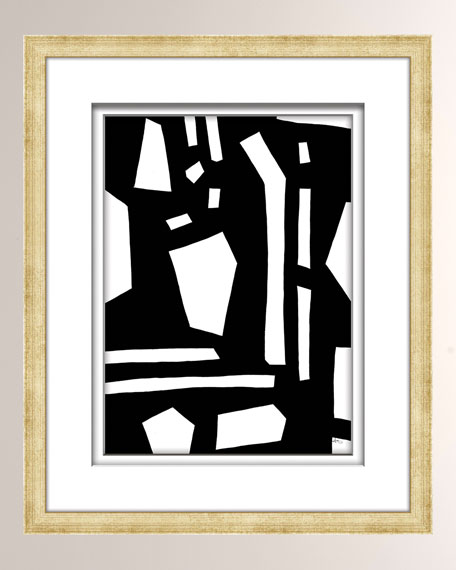 Black/White Abstract Art - 3