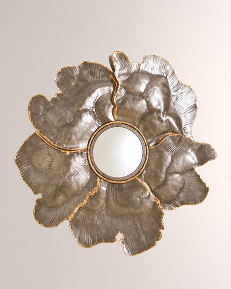 William D Scott Flower Wall Mirror - Small