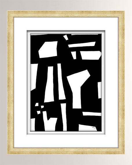 Black/White Abstract Art - 2