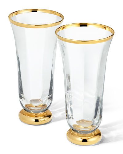 Sophia Drinking Flutes  Set of 2