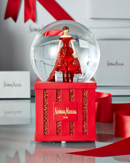 NM Lady Snow Globe