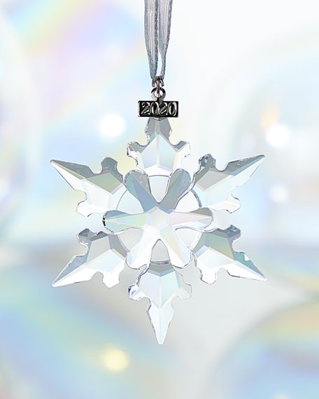 SWAROVSKI 2020 Annual Edition Christmas Ornament