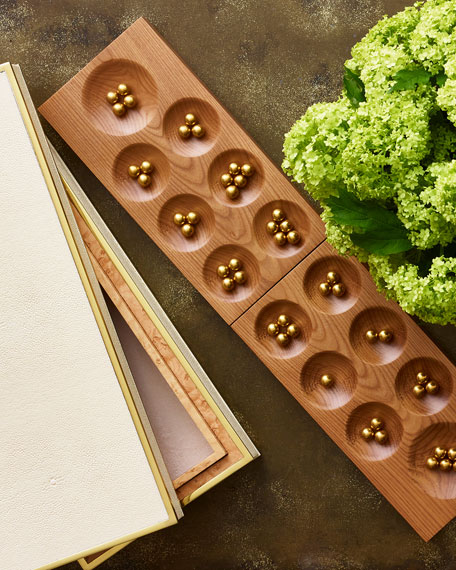 Shagreen Mancala Set