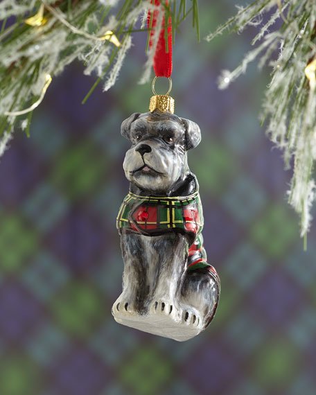 Joy To The World Collectibles Schnauzer Dog Flop