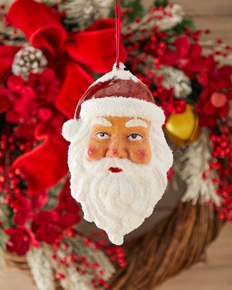 Santa's Face Christmas Ornament