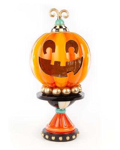 Illuminated Happy Pumpkin  Small