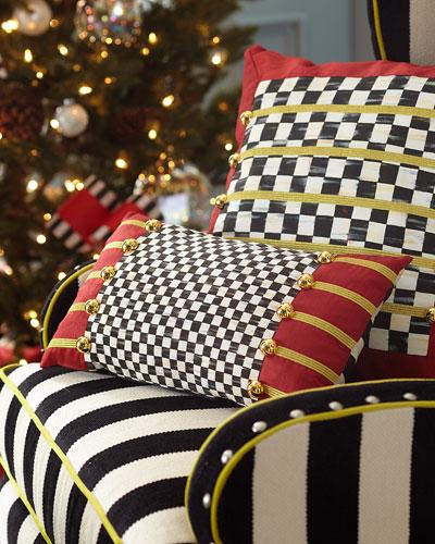 Holiday Regimental Lumbar Pillow