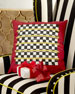 Holiday Regimental Square Pillow