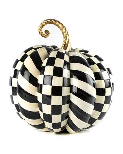 Courtly Check Gold Top Pumpkin