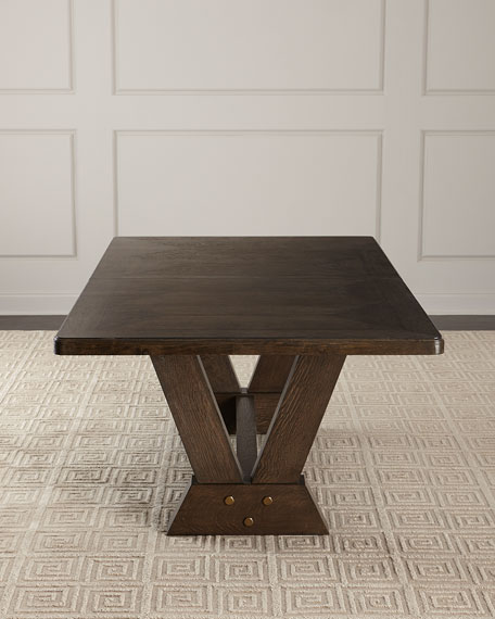 Blake Double Pedestal Dining Table
