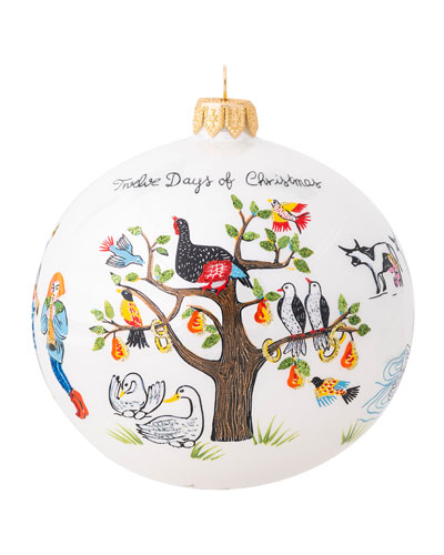 Twelve Days of Christmas Glass Ornament - 2020 Limited Edition