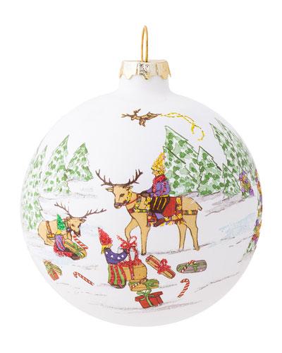 Berry & Thread North Pole Reindeer Ornament